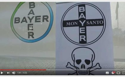 Bayer Monsato Protest